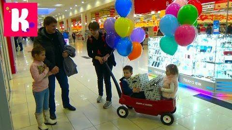 Видео 1.000.000 ПОДПИСЧИКОВ на Канале Miss Katy / Раздаём подарки детям