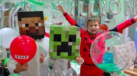 Видео 10 000 000 подписчиков Mister Max и Minecraft Party