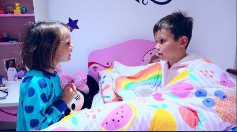 Видео 24 часа Challenge | Mакс и Катя поменялись комнатами / 24 Hours in my brother's room