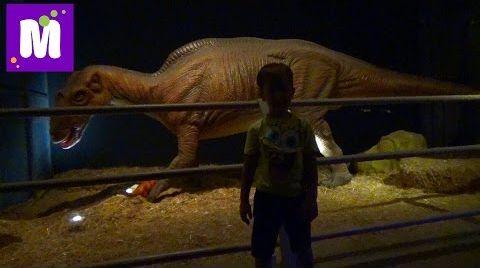 Видео #6 Стамбул идем парк динозавров купим чемодан Микки Маус поиграем в лунном песке Jurassic Land