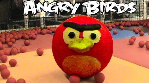 Видео Ангри Бердс огромный яйцо с сюрпризом / обзор игрушек / Angry Birds
