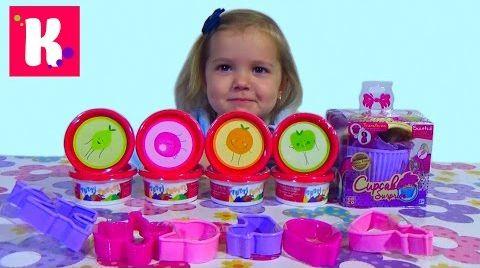 Видео Ароматные капкейки кукла / Ароматный пластилин тути фрутти