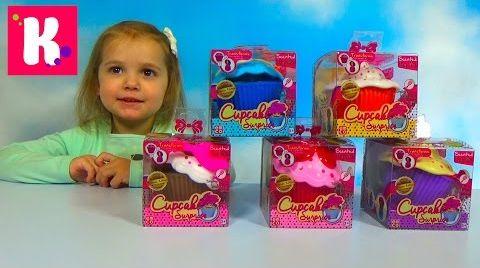 Видео Ароматные капкейки  /Куклы сюрприз / Обзор игрушек