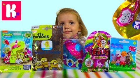 Видео Ароматные куклы -капкейки/ сюрпризы с игрушками/ распаковка