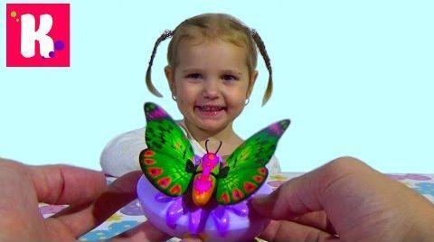 Видео Бабочка как живая / Машет крылышками / Little Live Pets Butterfly