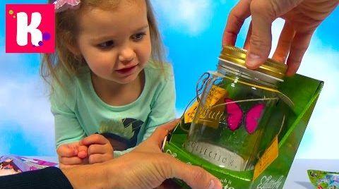Видео Бабочка в банке / Обзор игрушек