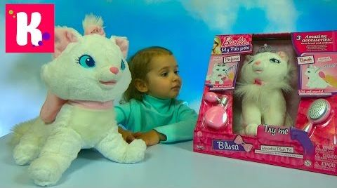 Видео Барби Блиса интерактивная кошечка с короной и аксессуарами / Barbie Blisa / Обзор игрушки