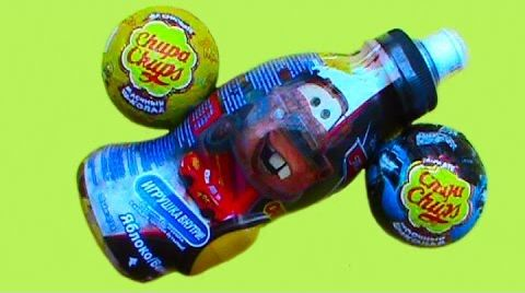 Видео Бэтмен, Тачки 2, Пчелка Майя, игрушка в шарах с сюрпризом