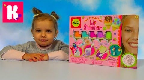 Видео Блеск для губ / набор для изготовления / Обзор игрушки