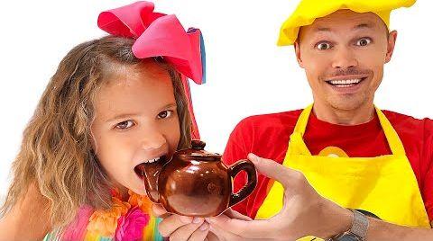 Видео Челлендж Настоящее или шоколадное от Макс и Катя