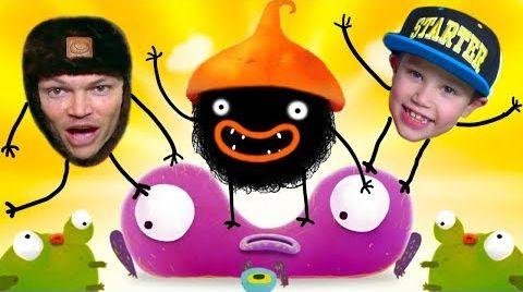 Видео Chuchel - самая няшная игра / Макс и Папа играют в Let's play от Mister Max Play