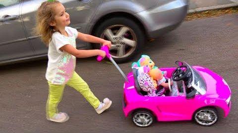 Видео Cry Baby Dolls by Cry Babies /Рутина маленького блогера /Катя- мама /Nursery Rhymes / Pretend Play
