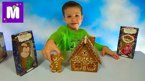 Видео Делаем пряничный домик Джинджерленд украшаем белым шоколадом