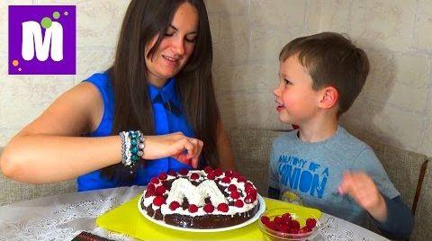 Видео Делаем торт со сгущенкой дома с тетей Людой