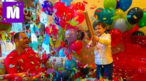 Видео День рождения Макса 6 лет / Гигантское Кресло Gummy Bear / Все в шоколаде! Eдем в Сadbury WORLD