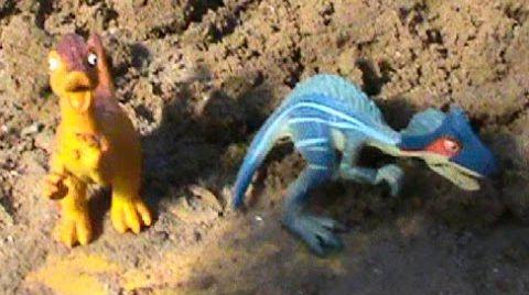 Видео Динозавры на русском Песочный Сюрприз раскопки