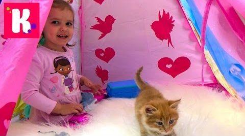 Видео Доктор Плюшева - набор ветеринара/ Играем с кошечкой Муркой