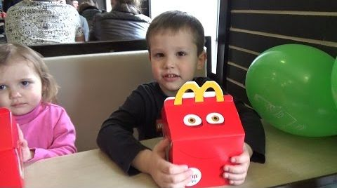 Видео Дом игрушки Хеппи Мил МакДональдс