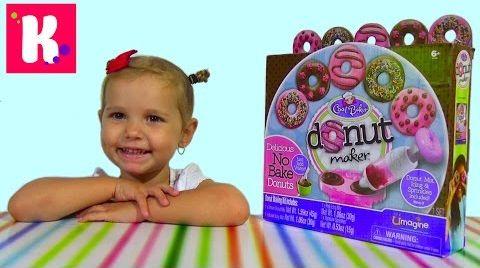 Видео Донат мэйкер/ набор для приготовления сладких пончиков