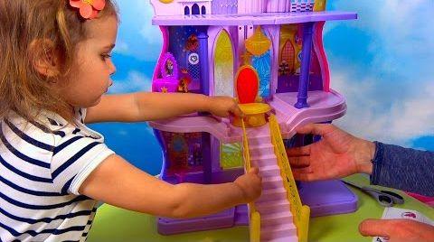 Видео Дворец Принцессы Силестии / Распаковка  и обзор игрушки