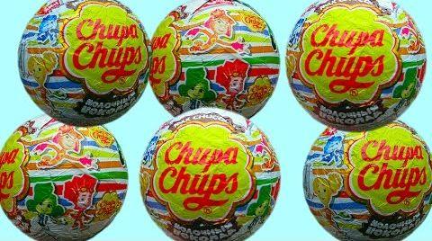 Видео Фиксики Чупа Чупс шары с сюрприз открываем игрушки