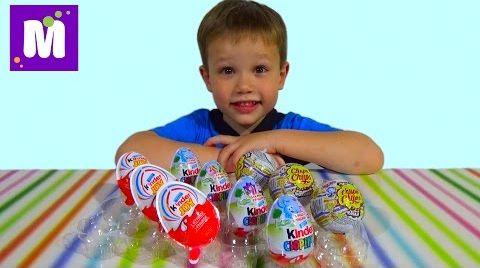 Видео Фиксики Тачки Лунтик и Смешарики яйца сюрприз распаковка игрушек