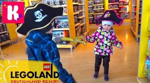 Видео Германия #3. Шоппинг в Лего Сторе / едем на пару дней в Мюнхен