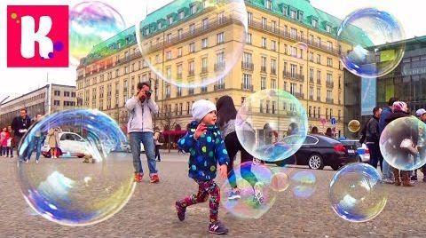 Видео Германия/ #6/ едем в Берлин на поезде/ мыльные пузыри/ рум тур