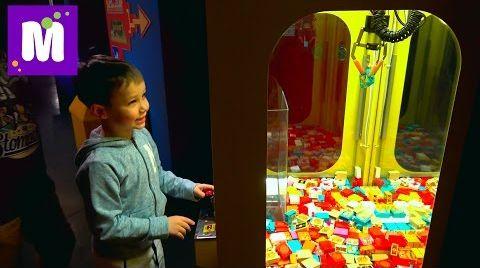 Видео Германия #8 Леголенд играем в автомат новые игрушки в ToysRus и МакДональдс VLOG Legoland