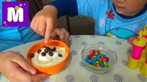 Видео Готовим малиновое шоколадное мороженое с тётей Людой