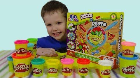 Видео Готовим пиццу из Play Doh