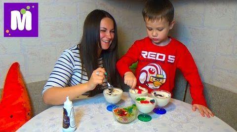 Видео Готовим с Людой молочное желе с желейными конфетками
