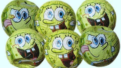 Видео Губка Боб шары с сюрпризом открываем игрушки