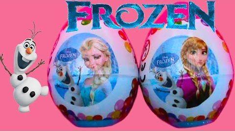 Видео Холодное сердце яйца с сюрпризом  / обзор игрушек