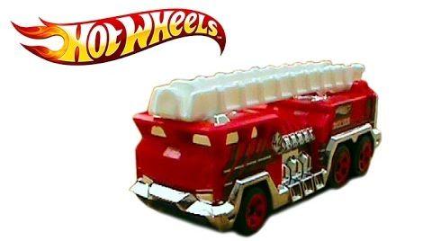 Видео Хотвилс пожарная машина игрушка Hotwheels
