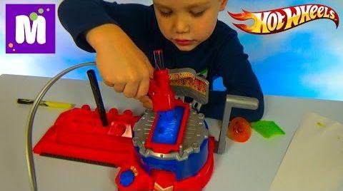 Видео Хотвилс покраска машин установка с машинкой распаковка