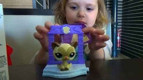 Видео Игрушки Хеппи Мил МакДональдс и небольшой шопинг