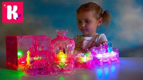 Видео Игрушки с подсветкой Moon Beams/ мебель для кукол/