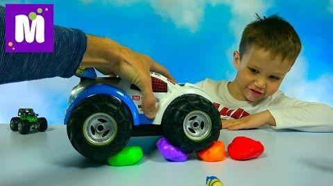 Видео Жвачка для рук цветные шарики прыгающая игрушка Silly Putty Hand Gum