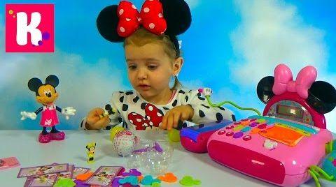 Видео Кассовый аппарат - Минни Маус / Обзор игрушек