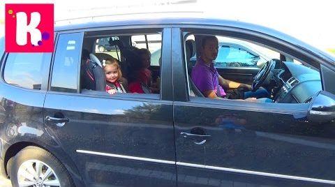 Видео Катя едет на машине в Одессу из Киева/ Детские развлечения