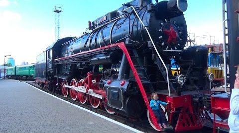 Видео Катя едет на метро/ гуляем по старым поездам и вагонам/ VLOG