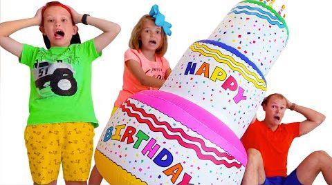 Видео Катя и День Рождения её друзей