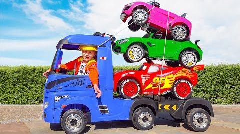 Видео Катя и её большая машина
