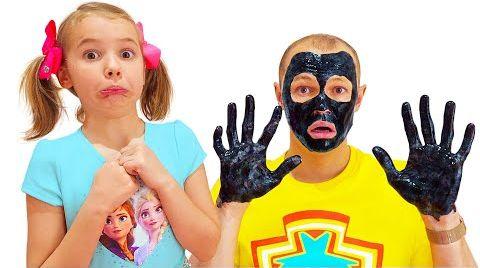Видео Катя и её Спа салон красоты для мальчиков