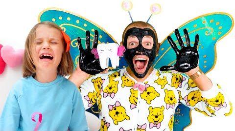 Видео Катя и Макс их их истории про выпавший зубик
