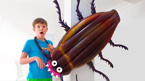 Видео Катя и Макс их насекомые
