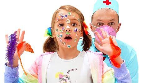 Видео Катя и Макс попали к доктору