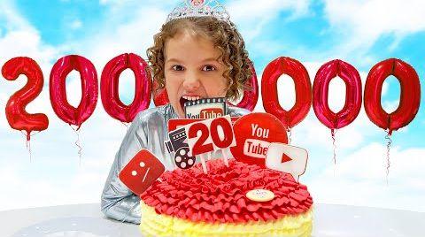 Видео Катя и Макс празднуют 20 миллионов на канале Мисс Кейти
