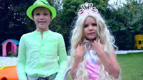 Видео Катя и Макс собираются на Диско балл